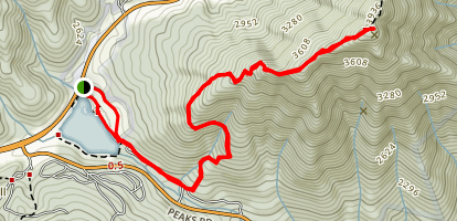 Flat Top Mountain Trail Map