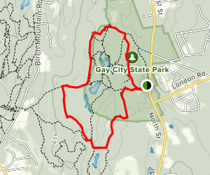 Gay City State Park Trail Map