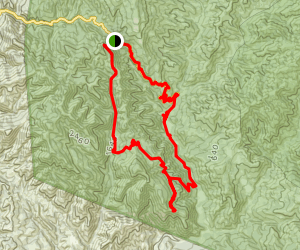 Alejandro Trail Map