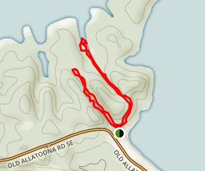 Allatoona Pass Battlefield Trail Map