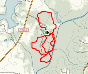 Little Tallapoosa Park Trail Map
