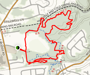 Stillwell Woods Trail Map