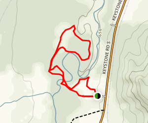 Lone Pine and Keystone Rapids Trail Map