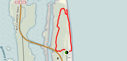 Little Talbot Island Hiking Trail Map