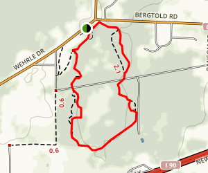 Tillman Road Wildlife Management Area  -  Trail Map