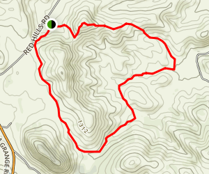 Red Hills Loop Trail Map