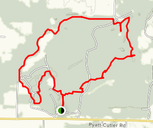 Pyramid State Park Loop Trail Map