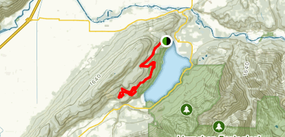 Vedder Mountain Road Ride Map