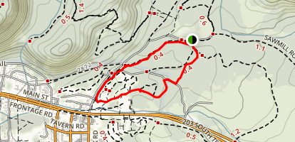 Mammoth Creek Loop Trail Map