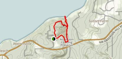 Anderson Landing Trail Map