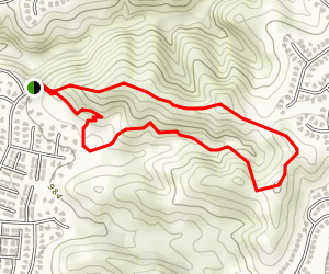 Steep Canyon Trail Map