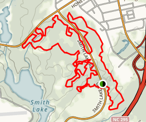 Smith Lake Trail Map