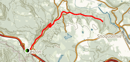 Preston-Snoqualmie Trail Map