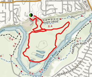San Juan Rapids Trail Map