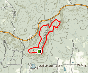 Dowdell Knob Trail Map