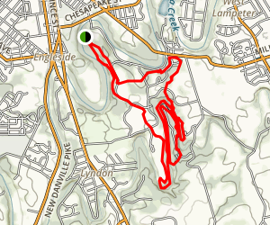 Lancaster County Central Park Loop Map