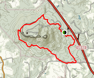 Sauratown Trail  Map