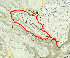 Ancho Rapids Trail Map