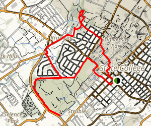 State College Rides Map