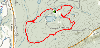 Buzzard Roost Trail Map