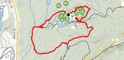 Mountain Creek Trail Loop Map