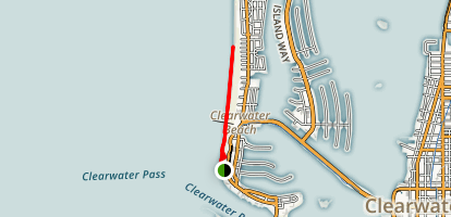 Clearwater Memorial Causeway Greenway Trail Map