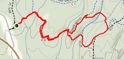 Chimney Springs Trail Map