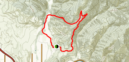 Marshall Canyon Loop Trail Map