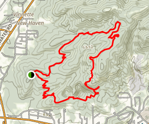 Coldwater Mountain Bike Trail Map