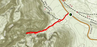 Ice Box Canyon Trails Map