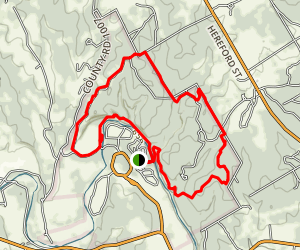 Dinosaur Valley State Park Hiking Trails Map