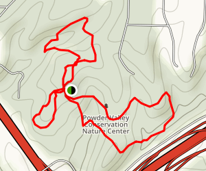 Powder Valley Nature Center Trail Map