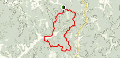 Youngs Creek Trail Map