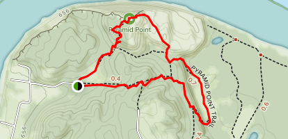 Pyramid Point Loop Map