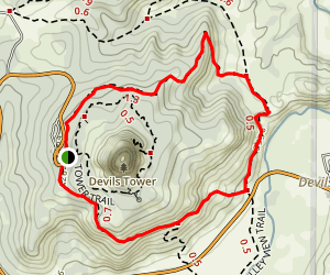 Red Beds Trail Map