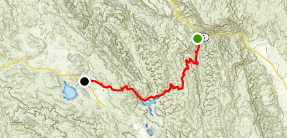 Rayhouse Road Trail (Low Water Bridge Trail) Map