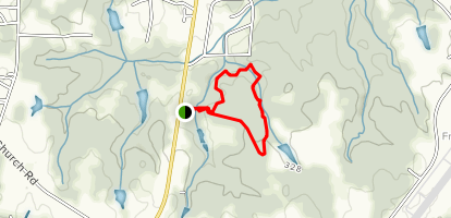 Franklin County Nature Preserve Trail Map