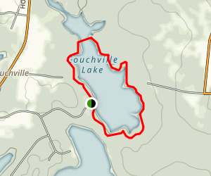 Couchville Lake Loop Trail Map