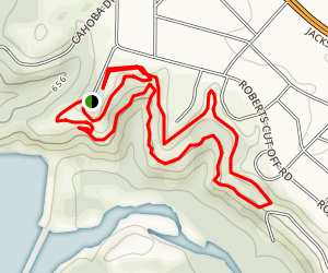 Sansom Red Trail Map