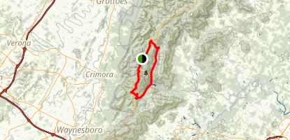 Moormans River Overnight Loop Trail Map