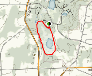 Quaker Pond Trail Map