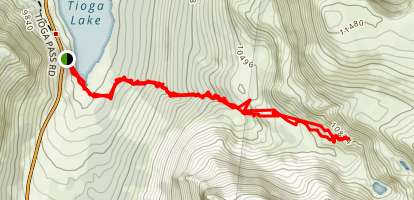 Glacier Canyon Trail Map