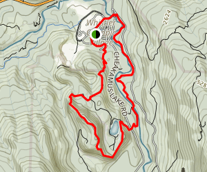 Crater Rima and Farside Loop Trail Map
