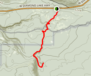 Boundary Springs Trail Map