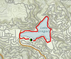 Lake Gregory Trail Map