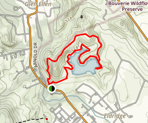 Sonoma Valley Regional Park Trail [CLOSED] Map
