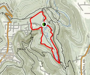 Plateau Loop Trail Map