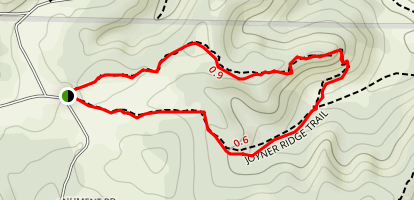 Joyner Ridge Trail Map