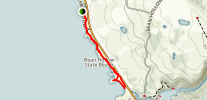 Bean Hollow Beach Trail Map