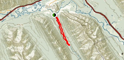 Spray Loop Trail Map